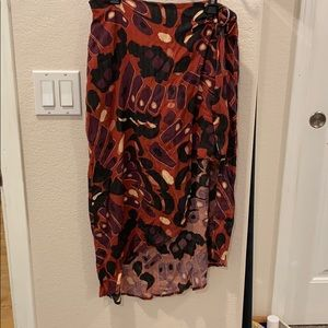 Free people wrap skirt size 2